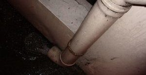 Water Damage And Mold Growth On Piping